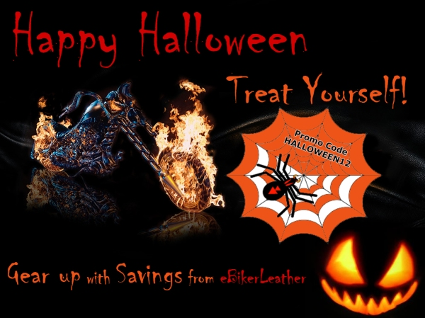 eBikerLeather Savings Halloween