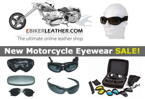 eBikerLeather.com Goggles and Sunglasses Sale
