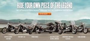 2013 Harley Davidson Lineup