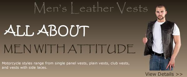 Leather Vests Sale