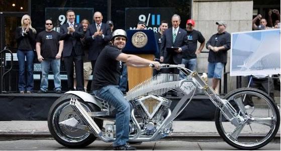 9/11 Motorcycle by Paul Jr