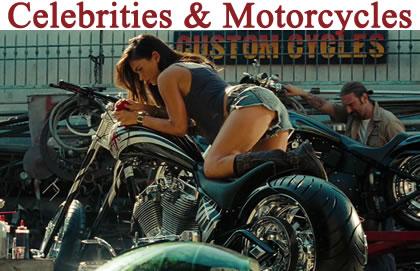 Celebrities & Motorcycles