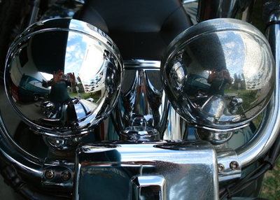 Tips on polishing chrome on motorcycle