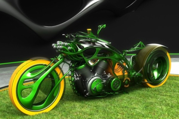 M-Org Custom Concept Chopper