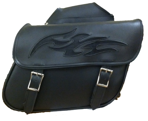 PVC Motorcycle Saddlebag at eBikerLeather.com