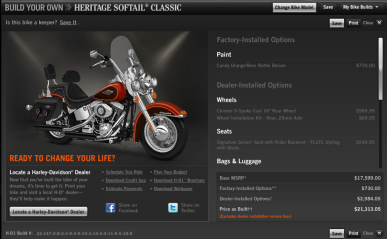 Harley Davidson Customization