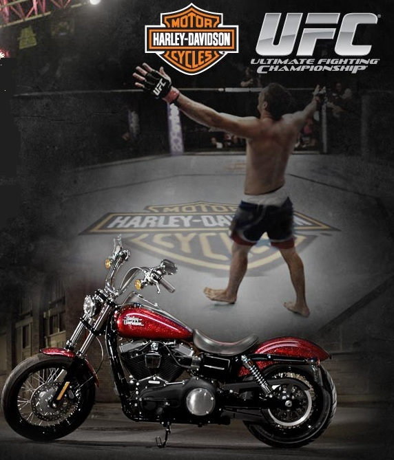 Be Part of the Action UFC - Harley Davidson