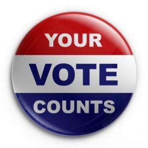 Your Vote Counts, Vote Today