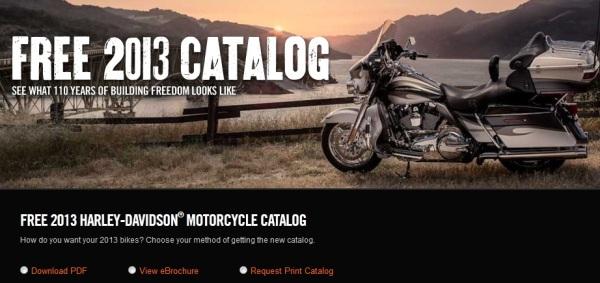 FREE Harley Davidson 2013 Catalog