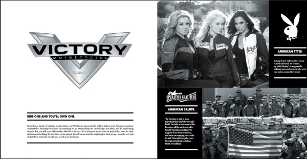 Victory Motorcycles and Playboy Mates