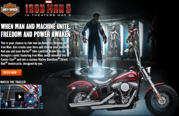 Harley Davidson and Marvel