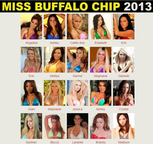 Miss Buffalo Chip 2013